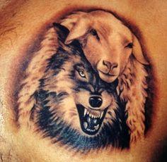 black wolf tattoo - Google zoeken