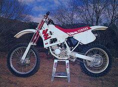 1990 Yamaha YZ125 | by Tony Blazier Yamaha Motocross, Motorcross Bike, Motorcycle, Yamaha Yz 125, Mx Bikes, Dirtbikes, Vintage Bikes, Atv, Cool Stuff