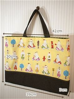 schoolbag-type2-a-2 Clutch Bag, Tote Bag, Fabric Bags, Sew Bags, Sewing For Kids, School Bags, Kids And Parenting, Diaper Bag, Diy And Crafts