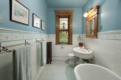 6th Street Brooklyn Victorian bathroom | Flickr - Photo Sharing!