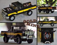 "LEGO ""Gold Mine"" Pickup Truck"