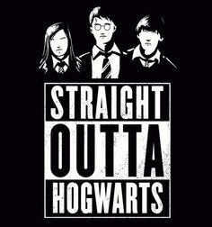 Straight Outta Hogwarts Design