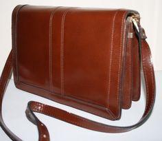 Vintage Women's Leather Bag Retro Girl Lady Elegant Handbag Evening Fashion