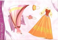 This is a very big set!  I will post more for a few days.   Description:Disney Princess Paper...
