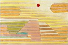 Paul Klee - Evening in Egypt William Turner, Graphic Design Illustration, Illustration Art, Paul Klee Art, Inspirational Wall Art, Abstract Styles, Abstract Art, Cool Paintings, Oeuvre D'art