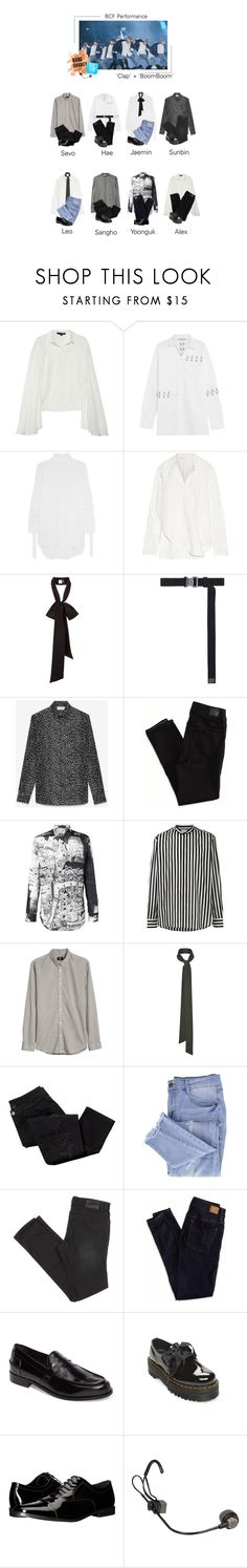 """BCF : ""Clap"" + ""BoomBoom"""" by image-official ❤ liked on Polyvore featuring Alexander Wang, Christopher Kane, E L L E R Y, Dion Lee, Alyx, Yves Saint Laurent, American Eagle Outfitters, Alexander McQueen, H&M and Avon"