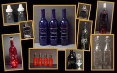 Need that special gift for that hard to buy for person? How about and engraved bottle!