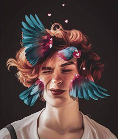 Ideas Pop Art Cartoon Lwren Scott For 2019 Digital Portrait, Portrait Art, Digital Art, Cs6 Photoshop, Art Sketches, Art Drawings, Arte Black, Polychromos, Wow Art