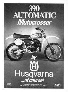 Husqvarna 390 Automatic Motocrosser - Vintage Dirt Bikes