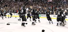 LA Kings...so fun to watch the underdogs win the Stanley Cup.