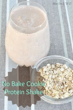 You gotta try this awesome No Bake Cookie Protein