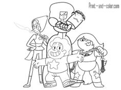 Star vs. the Forces of Evil coloring pages to download and