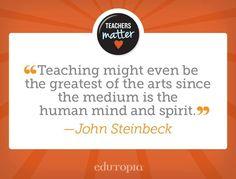 Absolutely. #TeachersMatter