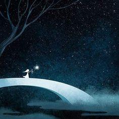 Magical Illustrations By Taiwanese Artist Will Make You Feel Warm Inside Inside Art, Sky Full Of Stars, Just Dream, Pastel Art, Fantasy Art, Concept Art, Digital Art, Illustration Art, Animation