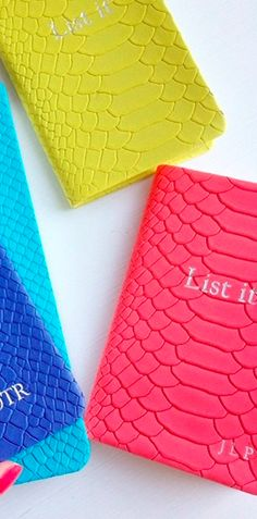 Love these leather bound notebooks - take 15% off with code:  WEAREFRIENDS http://rstyle.me/n/hhedrnyg6