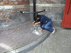 Jan Vormann whose Lego repairs have inspired The Dispatches Network where people can post pics of their own Lego repairs.