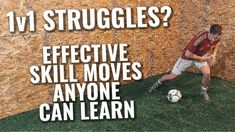 9 Cool Soccer Skill Moves To Learn | Best Soccer Moves To Beat More Defe... Soccer Workouts, Soccer Drills, Soccer Tips, Inspirational Soccer Quotes, Move To Learn, Soccer Girl Problems, Struggle Is Real, Soccer Training, Defenders