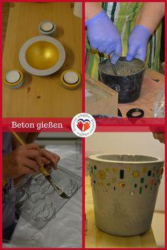 #Beton #Schale #Schüssel #Betonschale #DIY #Pflanze #selbstgemacht #Kreativkurs #Betongießen #concrete #bowl #shell #plants #nature #gold #doityourself #Pigmente @kreativgraz