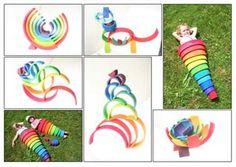 Rainbow Rings by Grimms | Large Wooden Waldorf Rainbow Rings Stacking Nesting Toy by GRIMM'S at Ape2Zebra|SKU 10670