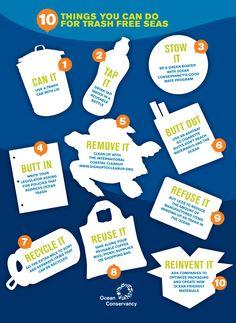 INTERNATIONAL COASTAL CLEANUP - Trash-Free Seas 2014 Report | 10 things you can do for trash-free seas - oceanconservancy.com