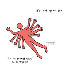 a reminder that it's not your job to be everything to everyone, all the time. you are not responsible for the well-being, feelings, and… Words Quotes, Me Quotes, Sayings, Daily Quotes, Couple Quotes, Pretty Words, Beautiful Words, The Words, Cool Words