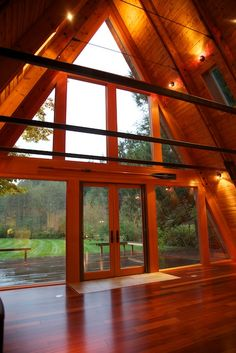 A-Frame Remodel | Stoner Architects | Seattle Residential & Commercial Architecture.