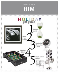 Every year, finding gifts for brother, dad, and boyfriend become more and more difficult. Get ideas with our top gift picks for the stylish guy.