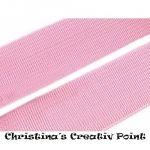 Gummiband Rosa 20 mm - farbechtes, formbeständiges Gummiband (gewebt) - ideal für Ihre selbst genähten Röcke oder auch Kinderbekleidung und vieles mehr.