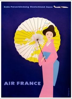 Air France's exotic Advertising  