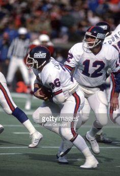 Rob Carpenter & Scott Brunner New York Giants