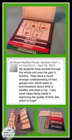 Great feedback on this nutrition unit that uses My Plate and a variety of interactive materials for students to practice making healthy eating decisions. #lifeskills
