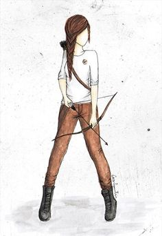 Hunger Games Fan Art / Katniss