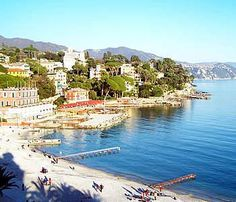 Santa Margherita Ligure, Riviera di Levante, Italian Riviera: Such a lovely town on the sea with incredible restaurants and great shopping and nice, affordable hotels. And then from there you can take a bus over to Portfino for a wonderful day trip. It isn't far from Cinque Terre.