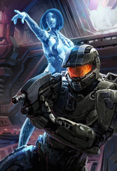 Halo: Chief and Cortana Loot Crate Isaac Hannaford ArtStation - Halo: Chief and Cortana Loot Crate Isaac Hannaford Halo Master Chief, Master Chief Armor, Master Chief Costume, Master Chief And Cortana, Halo Cosplay, Halo Game, Halo 3, Space Marine, Metal Gear Solid
