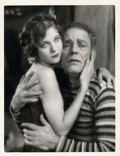 "Loretta Young and Lon Chaney : ""Laugh, Clown, Laugh"", 1928"