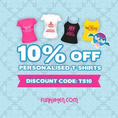 Hen night personalised t-shirts & vest tops just got cheaper with the discount code not matter if your a hen night in Brighton or a hen weekend in Ibiza Weekend In Ibiza, Vest Tops, Hens Night, T Shirt Vest, Personalized T Shirts, Brighton, Vests, Coding, Party