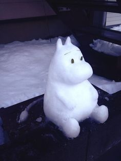 moomin snowman Georgina Snow Sculptures, Tove Jansson, Art Club, Have Some Fun, Jingle Bells, Illustration Art, Illustrations, Projects For Kids, Winter Wonderland