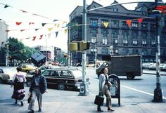 Astor Place, St.Marks, The Cube & Cooper Union, 1982.......REMEMBERING ASTOR PLACE, Photo by George Porcari.