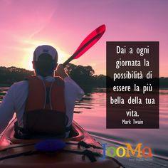 Oggi giorno è una possibilità per essere felice...coa farai oggi? www.jooma.it #Motivation