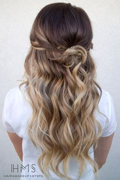87 unique ombre hair color ideas to rock in 2018 - Hairstyles Trends Good Hair Day, Love Hair, Gorgeous Hair, Pretty Hairstyles, Wedding Hairstyles, Hair Pulling, Corte Y Color, Hair Color And Cut, Hair Colour
