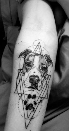 43 New Ideas For Tattoo Dog Sleeve Tat – foot tattoos for women quotes Bull Tattoos, Neue Tattoos, Body Art Tattoos, Tatouage Pit Bull, Sleeve Tattoos For Women, Tattoos For Guys, Tattoo Fonts, Tattoo Quotes, Boxer Dog Tattoo