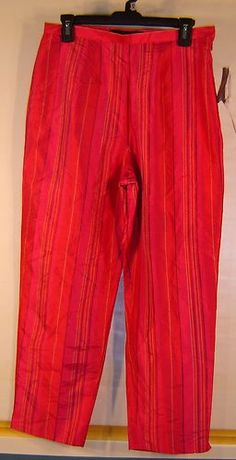 osephine Chaus Womens Silk Capris-Cropped Size 10http://cgi.ebay.com/ws/eBayISAPI.dll?ViewItem=230961555757=STRK:MESE:IT