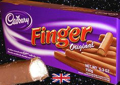 Cadbury Fingers :: 3/26/14 bought some of these at World Market in Indy and they are amazing!! :)