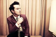 I present to you: Andrew Scott. He's a wonderful Moriarty in Sherlock (fantastic show if you haven't checked it out yet!!), and well...one must admit, awful easy on the eyes.