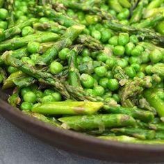 Pea Recipes, Side Dish Recipes, Veggie Recipes, Vegetarian Recipes, Cooking Recipes, Healthy Recipes, Grilled Vegetable Salads, Irish Recipes, Chickpeas