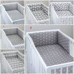 To fit baby cot or cot bed. duvet cover 120 x 90 cm for cot. or cm for cot bed. bumper 180 x 30 cm for cot. or cm for cot bed. pillow case 60 x 40 cm. Baby Cot Bumper, Baby Crib Diy, Baby Boy Bedding, Baby Bedroom, Baby Boy Rooms, Baby Cribs, Grey Cot Bedding, Cradle Bedding, Cot Bed Duvet Cover