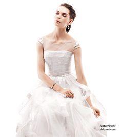 Romantic Ethereal Wedding Dresses Spring 2013
