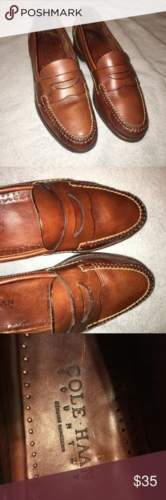 Cole Haan Pinch Penny Loafers Slip On Men's 10.5 N Nicely Conditioned and ready to wear! Comfortable fitting. Plenty of Life left. • Brand: Cole Haan Country • Style: Pinch Penny Loafers Slip On • Color: Brown • Size: Men's 10.5 N Cole Haan Shoes Loafers & Slip-Ons