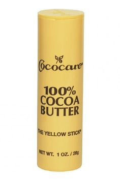 At just under two bucks, every gal should have one of these sticks in their purse! May your lips, elbows, knuckles, and cuticles never be dry again!   Cococare 100% Cocoa Butter Stick, $1.99, available at CVS.