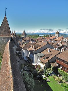 Murten in Switzerland